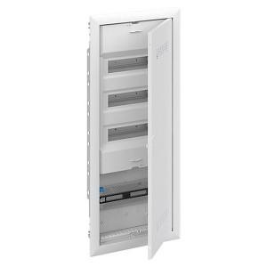 Шкаф комбинированный  АВВ с дверью с вентиляционными отверстиями (5 рядов) 36М UK663CV