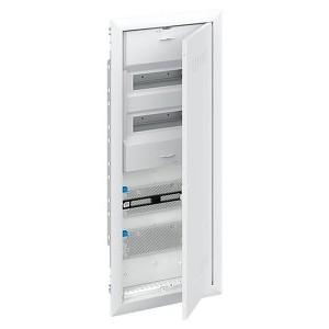 Шкаф комбинированный АВВ с дверью с радиопрозрачной вставкой (5 рядов) 24М UK662CW