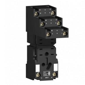 Колодка с раздельными контактоми 4CO 27MM для реле Zelio Relay RXM SE