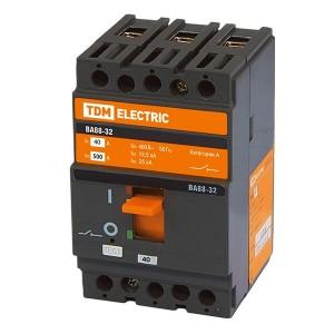 Автоматический выключатель ВА88-32 3Р 40А 25кА TDM (автомат)