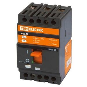 Автоматический выключатель ВА88-32 3Р 12,5А 25кА TDM (автомат)
