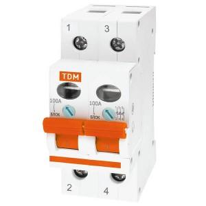 Выключатель нагрузки (мини-рубильник) ВН-32 1P 125A TDM