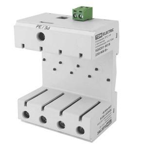 Основание ОПС1 4Р с контактом сигнализации 1НО TDM