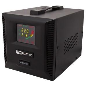 Стабилизатор напряжения СНР1-1-2 кВА электронный переносной TDM