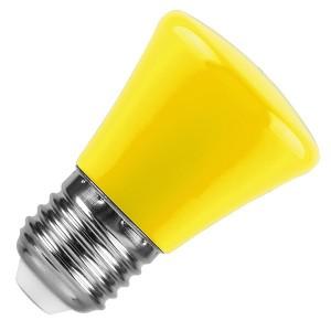 Лампа светодиодная колокольчик Feron LB-372 1W 230V E27 желтый