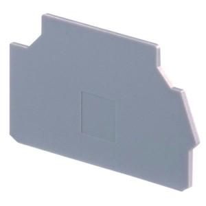 Изолятор торцевой TE-Entrelec (АВВ) FEM8S для DR4/8SF и M4/8 (.SF, .SF.NC, .SF.R, .SN) серый