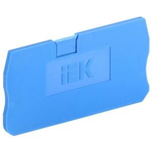 Заглушка для КПИ 2в-4 синяя IEK