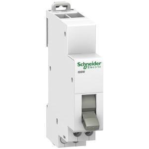 Двухпозиционный переключатель iSSW Acti 9 Schneider Electric 2 полюс 1НО+1НЗ 20А 250В 1 модуль