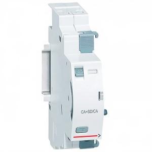 Вспомогательный переключающий контакт положения + контакт срабатывания Legrand DX3 6А 250В~ 1 модуль