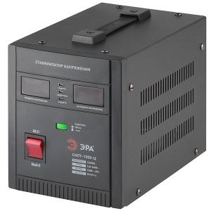 Стабилизатор напряжения СНПТ-1500-Ц 140-260В, 1.5кВА, цифровой дисплей ЭРА