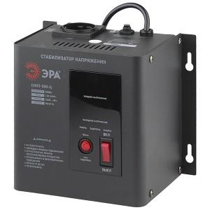 Стабилизатор напряжения СННТ-500-Ц 140-260В, 0.5кВА, цифровой дисплей ЭРА