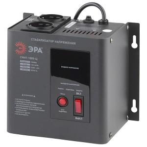 Стабилизатор напряжения СННТ-1000-Ц 140-260В, 1кВА, цифровой дисплей ЭРА
