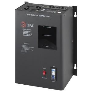 Стабилизатор напряжения СННТ-3000-Ц 140-260В, 3кВА, цифровой дисплей ЭРА
