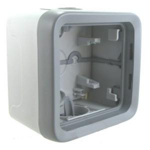 Коробка 1 пост накладного монтажа Legrand Plexo IP55, серый