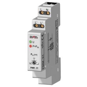 Ограничитель мощности Zamel 16А 0,2-2кВт IP20