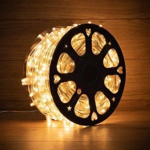 Гирлянда LED ClipLight 12 V, прозрачный ПВХ, 150 мм, цвет диодов теплый белый