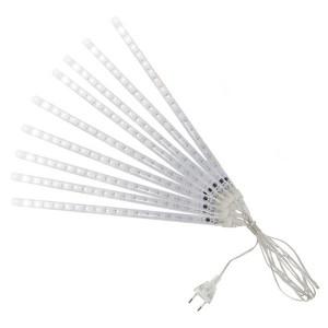 Гирлянда Сосульки, падающий белый свет, 30 см, 8 шт в комплекте, 3,8 м, TDM