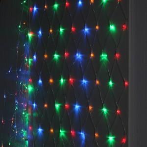Гирлянда ENIS-01M ЭРА LED Сеть 1,8x1,5m мультиколор, мультирежим, 220V, IP20