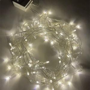 Гирлянда ENIN-10B ЭРА LED Нить 10m теплый свет 8 режимов, 220V, IP20 5056306025822