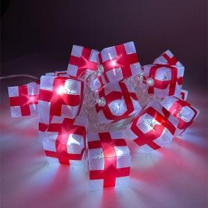 Гирлянда ENIN-3P ЭРА LED Нить Подарки 3m холодный свет, 220V, IP20 5056306025846