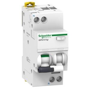 Дифференциальный атомат Schneider Electric iDPN N VIGI 6кА 25A C (тип АС) 30мA