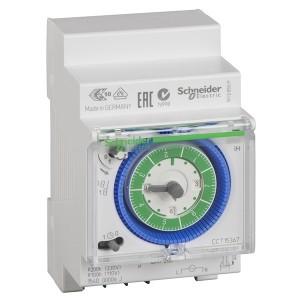 Реле времени электромеханическое Schneider Electric IH 3M 7 дней 1 канал с запасом хода