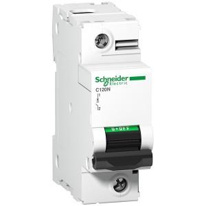 Автоматический выключатель Schneider Electric Acti 9 C120N 1П 80A C 10кА 1,5 модуля (автомат)