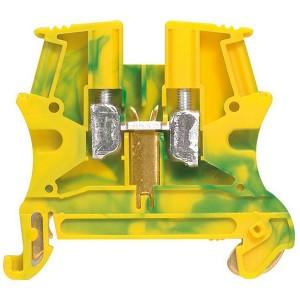 Винтовая клемма Viking 3 Legrand заземляющая однополюсная 10мм шаг 10мм - желто-зеленый