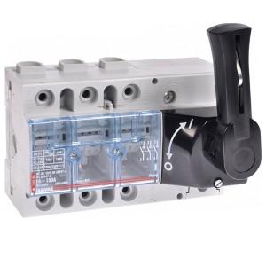 Выключатель-разъединитель Legrand Vistop 100A 3 полюса черная рукоятка спереди 7,5 модуля