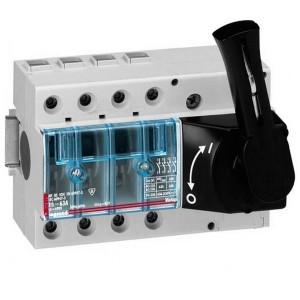 Выключатель-разъединитель Legrand Vistop 100A 4 полюса черная рукоятка спереди 9 модулей