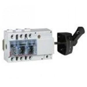Выключатель-разъединитель Legrand Vistop 100A 3 полюса черная рукоятка сбоку 7,5 модуля