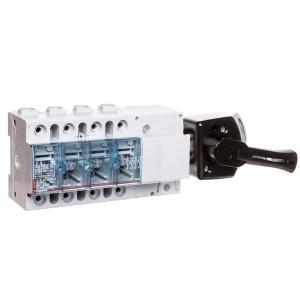 Выключатель-разъединитель Legrand Vistop 100A 4 полюса черная рукоятка сбоку 9 модулей