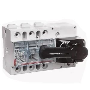 Выключатель-разъединитель Legrand Vistop 125A 3 полюса черная рукоятка спереди 7,5 модуля