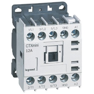 Контактор Legrand CTXз Мини 3P 12A (AC-3) 1но 24В AC