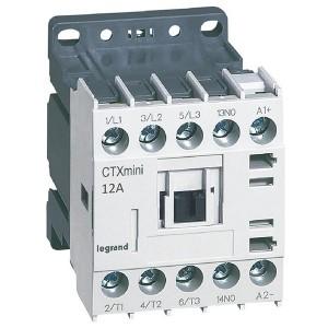 Контактор Legrand CTXз Мини 3P 12A (AC-3) 1но 24В DC