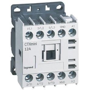 Контактор Legrand CTXз Мини 3P 12A (AC-3) 1но 230В AC