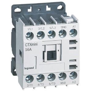 Контактор Legrand CTXз Мини 3P 16A (AC-3) 1но 24В AC