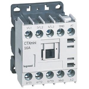 Контактор Legrand CTXз Мини 3P 16A (AC-3) 1но 230В AC