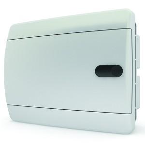 Щит встраиваемый Tekfor 8 (1x8) модулей IP41 непрозрачная белая дверца CVN 40-08-1