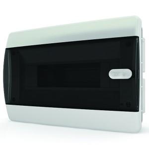 Щит встраиваемый Tekfor 12 (1x12) модулей IP41 прозрачная черная дверца CVK 40-12-1