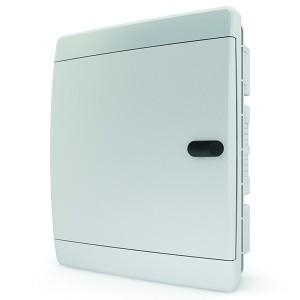 Щит встраиваемый Tekfor 18 (2x9) модулей IP41 непрозрачная белая дверца CVN 40-18-1