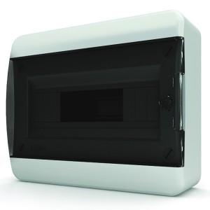 Щит навесной Tekfor 12 (1x12) модулей IP41 прозрачная черная дверца BNK 40-12-1