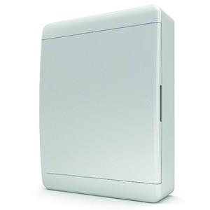Щит навесной Tekfor 24 (2x12) модуля IP41 непрозрачная белая дверца BNN 40-24-1