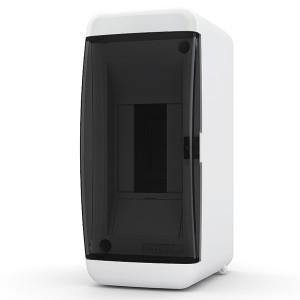 Щит навесной Tekfor 2 (1x2) модуля IP41 прозрачная черная дверца UNK 40-02-2