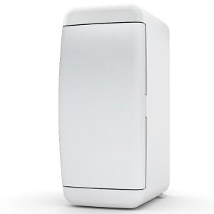 Щит навесной Tekfor 2 (1x2) модуля IP41 непрозрачная белая дверца UNN 40-02-2