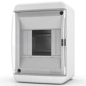 Щит навесной Tekfor 4 (1x4) модуля IP41 прозрачная дверца UNC 40-04-2