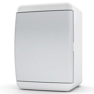 Щит навесной Tekfor 4 (1x4) модуля IP41 непрозрачная белая дверца UNN 40-04-2
