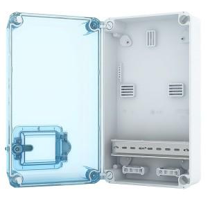 Пластиковый корпус 350x200мм, IP66 под установку счетчика KNS 66-350x200-1