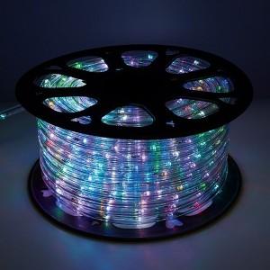 Дюралайт светодиодный Feron LED-R2W 2-х жильный, RGB 1,44Вт/м 24LED/м 50м 230V