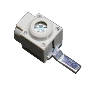 Вводная клемма АВВ штырь боковой ввод сечение кабеля 6-25мм2 наконечник 30х6мм (Ast 25/30Q)